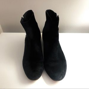 DOLCE VITA BLACK SUEDE BOOTIES
